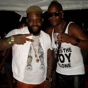 Delomar (RDX) and Demarco - Zip Soca Party - Pearly Beach - St Ann